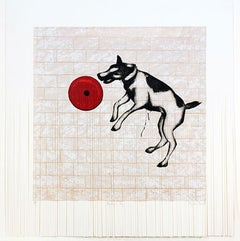 Mychael Barratt, Banksy's Dog, Street Art, Affordable Art, Celebrity Art