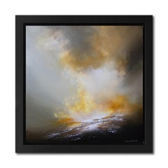 Sheryl Roberts Thoughts Awake, Contemporary Turner -esque Painting, Seascape Art