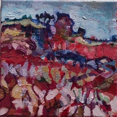 Doochill North BY DIANE HADDEN, Original Abstract Landscape Painting for Sale