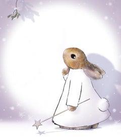 December, Harry Bunce, Happy Year Prints, Animal Art, Bright Art, Happy Art