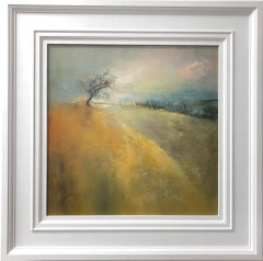 Shirley Kirkcaldy, Waiting for Spring, Original Landscape Painting, Natural Tree