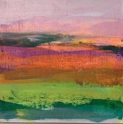 Jane Wachman, Blossom, Bright Art, Original Painting, Affordable Landscape Art