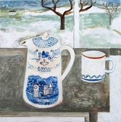 Abbey Jug, Andrea Humphries, Still Life Painting, Original Art