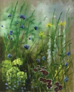 Island Path III, Original Photorealist Painting, Oil Painting, Affordable Art