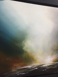 Sheryl Roberts, Delicate Thunders, Original Seascape Painting, Contemporary Art
