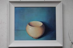 Mothers Bowl 1, Fiona Smith, Original Painting, Still Life Art, Ceramic Art