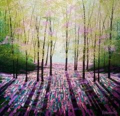 Amanda Horvath, Rosemary Wood, Original Contemporary Landscape Painting