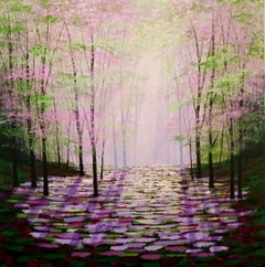 Amanda Horvarth, Midsummer Hope, Original Acrylic Painting, affordable art