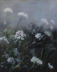Dylan Lloyd, Island Garden Border VII, Original Landscape Painting, Nature Art