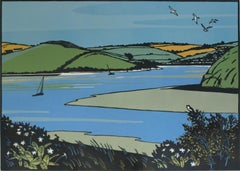 Colin Moore, The Camel Trail In Spring, Seascape Art, Limited Edition Print
