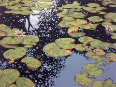 Alexandra Buckle, Lily Pond Reflections, Affordable Art