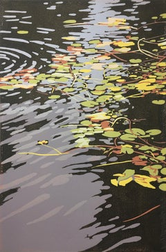 Alexandra Buckle, Lilies and Ripples, Affordable Art, Limited Edition Print