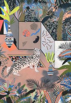 Adam Bartlett, Jungle Of Mysteries, Mixed Media Artwork, Affordable Art