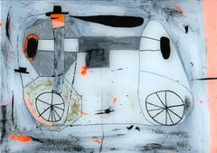 Adam Bartlett, My little Friends, Mixed Media Art, Art Abstract Art