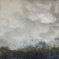 Gemma Bedford, Woodland Mist, Contemporary Art, Abstract Art, Affordable Art