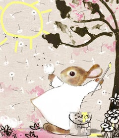 Harry Bunce,June, The Happy year, Harry Bunce, Limited edition print, Animal art