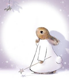 Harry Bunce, December, Happy Year Prints, Animal Art, Bright Art, Happy Art