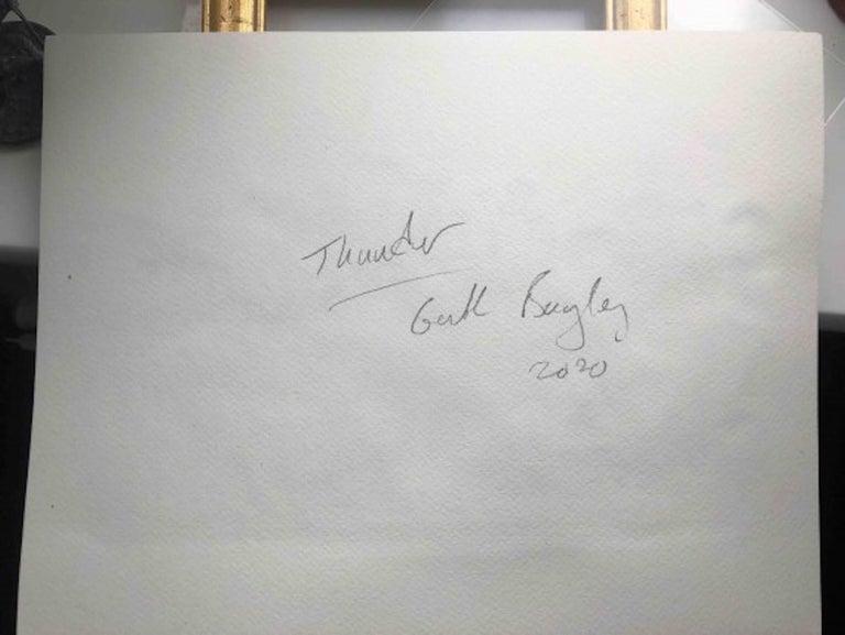Garth Bayley, Thunder, Contemporary Art, Horse Racing Art, Affordable Art For Sale 2