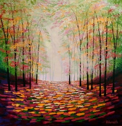 Amanda Horvath, Sunlight Dreaming, Landscape Art, Contemporary Art, Art Online