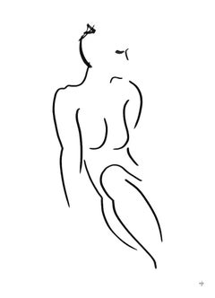 David Jones, 17H, Original Minimalist Drawing, Figurative Art, Art Online