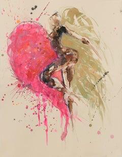 Emma de Polnay, Strong Back, Soft Heart, Nude Art, Contemporary Art,