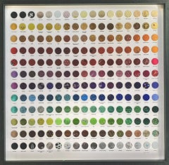 Joanne Tinker, Ultimate Chocolate Lovers Colour Chart, Contemporary Art