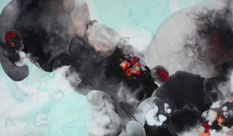 Yu Lanyng (Lavinia Yu) Figurative Painting - The Ink Soul 180