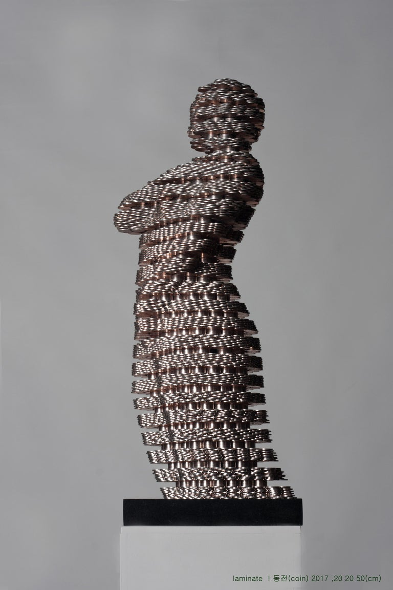 Kim Seungwoo Figurative Sculpture - Laminate