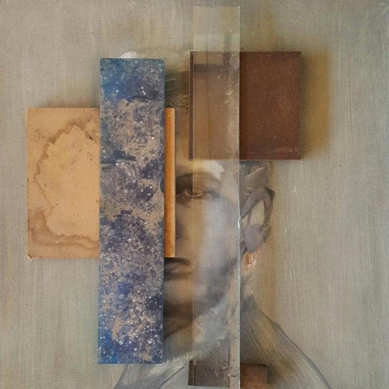 Daniel Martin Abstract Painting - Study XXXVIII