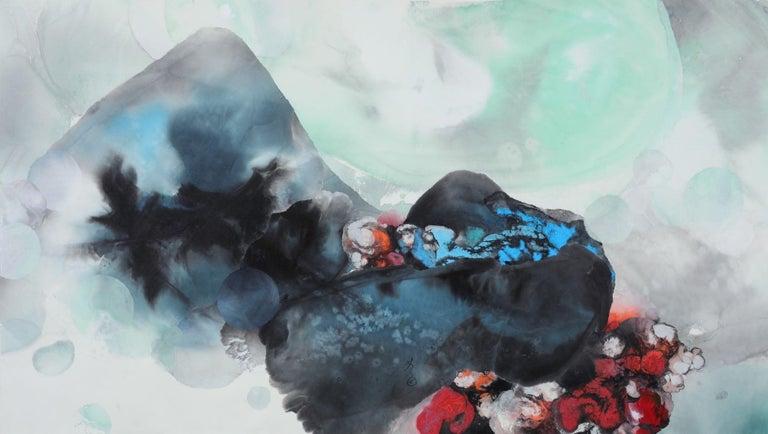 Yu Lanyng (Lavinia Yu) Figurative Painting - The Ink Soul 1916