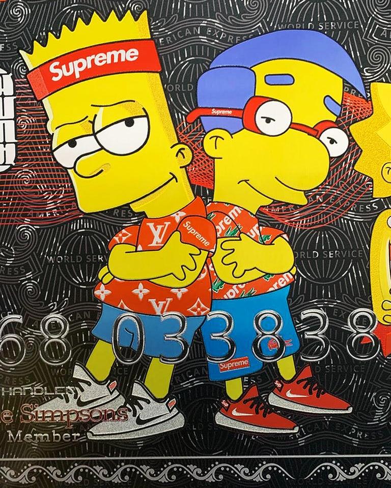 SUPREME AMEX - Pop Art Art by Yaniv Edery