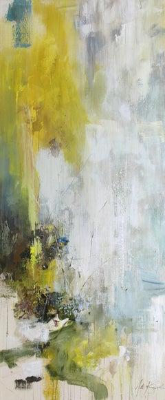 Variations on Blue (Northern Parula Warbler) by Justin Kellner, Abstract Piece