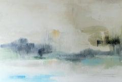 Avalon Dreams by J Austin Jennings 2019 Large Horizontal Framed Abstract