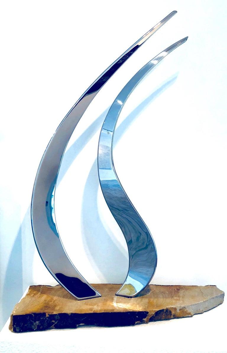 Tango - Sculpture by Ryan T. Schmidt