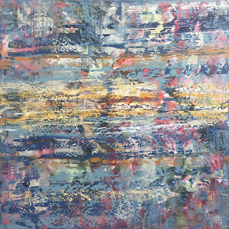 David Skillicorn Abstract Painting - Sinfonia