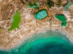 Pools of Life - Dead Sea, Israel - Framed