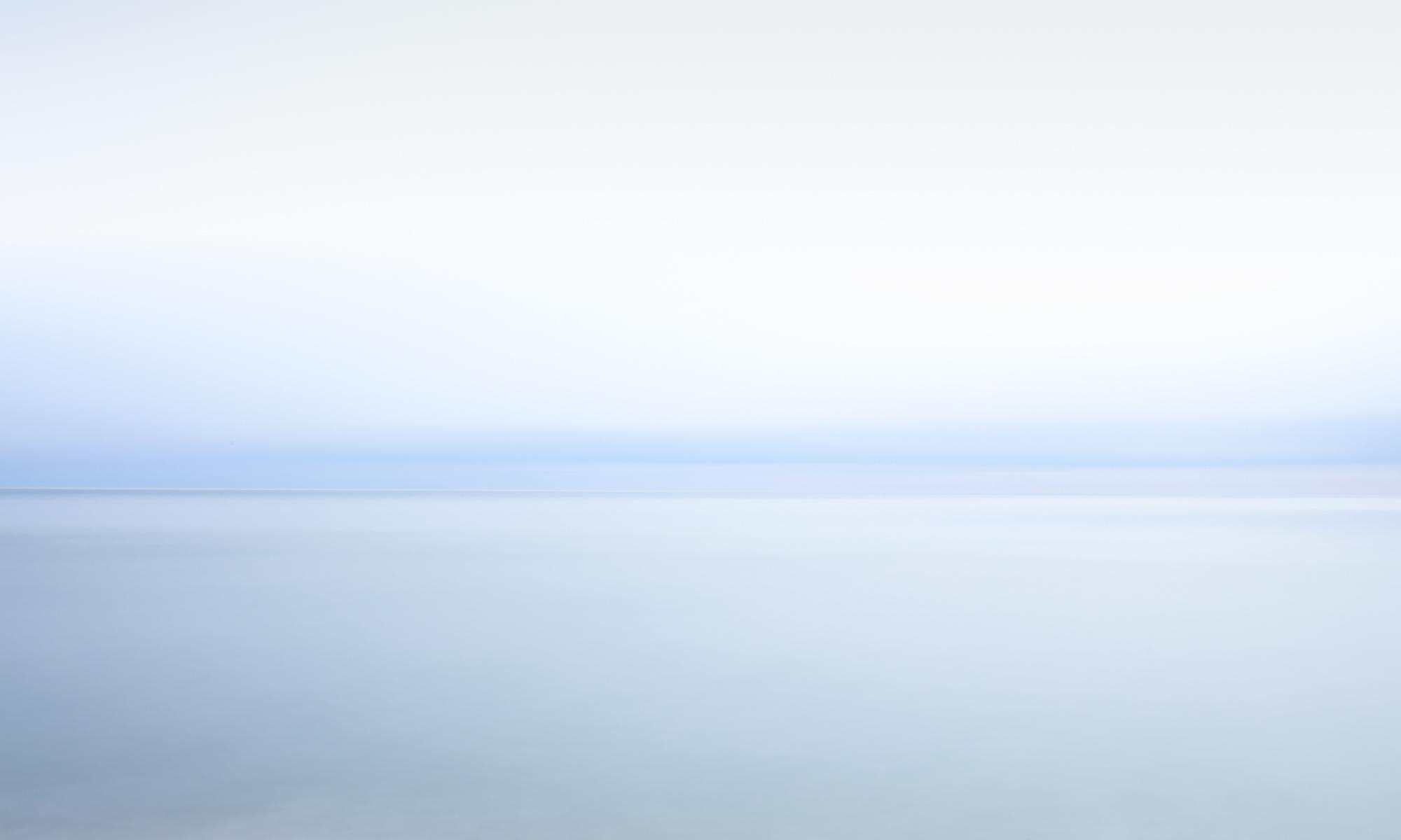 Winter Sky at White Sands - Framed