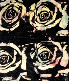 'A rose is a rose is a rose is a rose' - Artists' creation in a weave