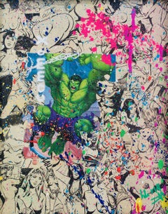 "Christophe stouvenel alias ""Kiki"" : ""Hulk Comme X plat"""