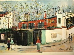 Maurice Utrillo Montmartre