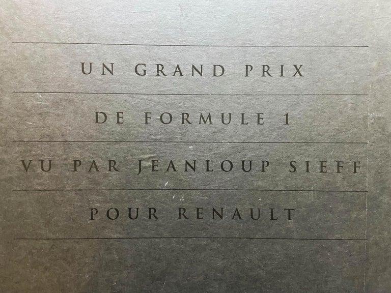 Renault Formula 1 Grand Prix Portfolio - Jeanloup Sieff For Sale 6