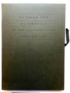 Renault Formula 1 Grand Prix Portfolio - Jeanloup Sieff