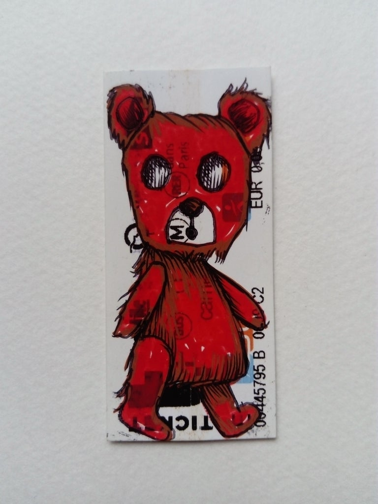 The Red Riding Hood Bear - Art by Jessica Pliez