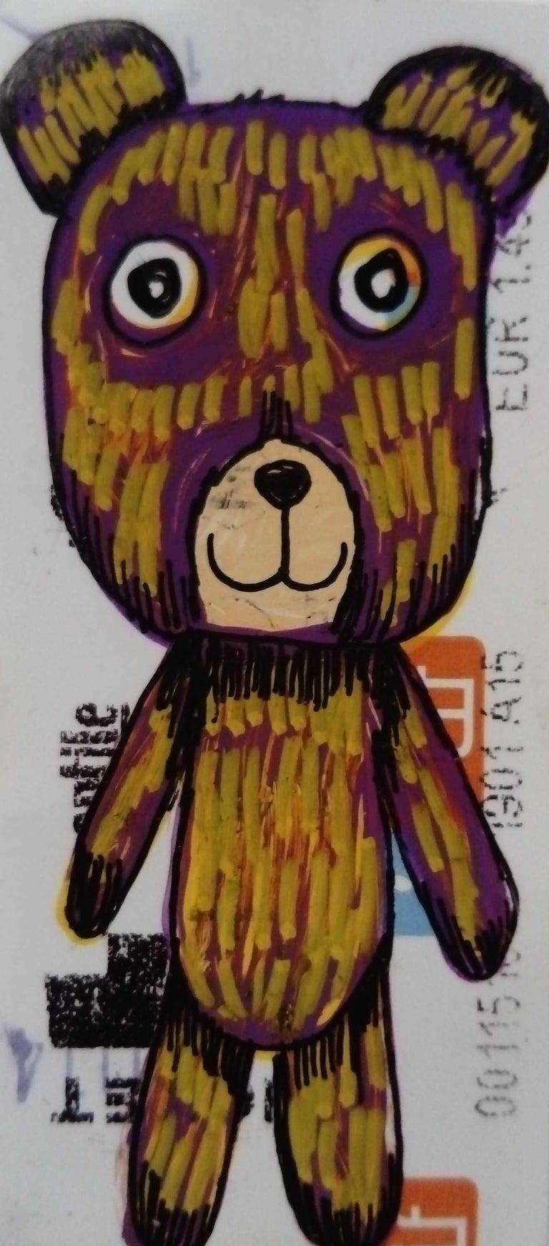 Jessica Pliez Animal Art - Little blond bear