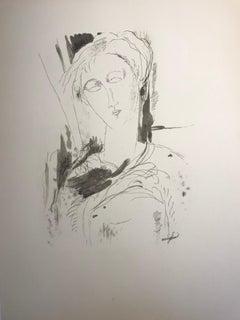 Amadeo Modigliani  Portrait