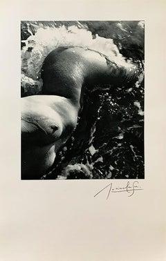 """Lucien Clergue """"Née de la vague"""" 1968"""