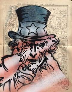 """Christophe Stouvenel """"Uncle Sam"""" 2019"""