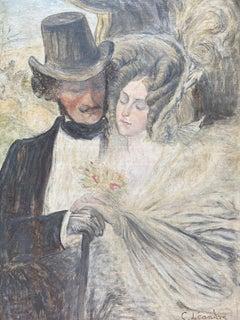 "Charles Léandre ""Lovers""  1925"