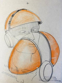 Raymond loewy  Helmet project for the NASA 1969