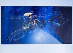 "Raymond LOEWY ""Orbital Station ProjeCT""  1970."